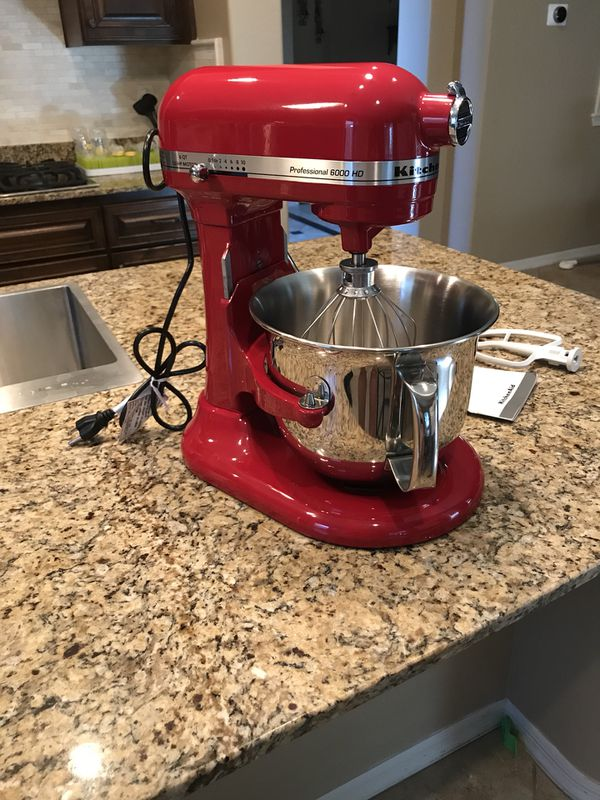 6 Qt Professional Kitchen Aid Mixer For Sale In Peoria Az Offerup