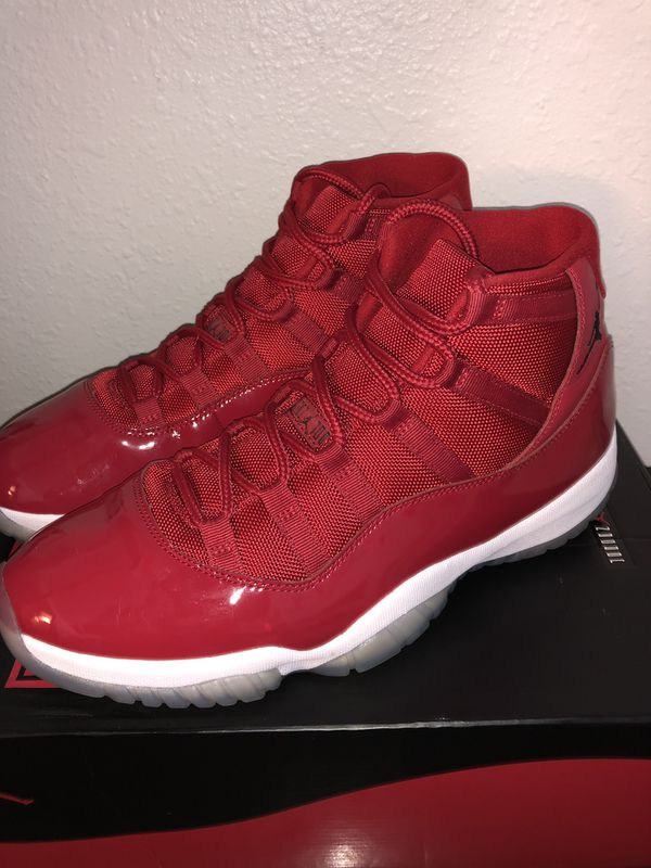 d81d298e8239f4 nike air jordan 11 win like 96 xi retro gym red (size 12) for Sale ...