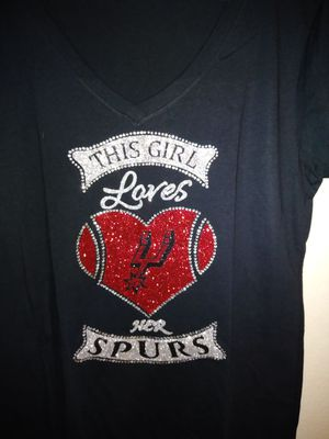 save off 1c85e 9b9a0 Spurs bling T-Shirts $30.00 and $20.00 each for Sale in San ...
