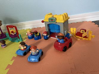 Fisher Price Little People Playground and Service Garage Sets  Thumbnail
