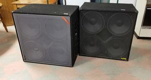 2 Community CSX60-S2 professional loudspeakers subwoofer for Sale in St. Louis, MO