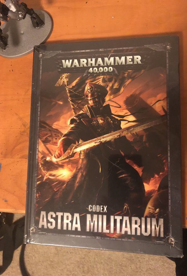 New Astra Militarum 8th edition Codex for Sale in Joint Base Lewis-McChord,  WA - OfferUp