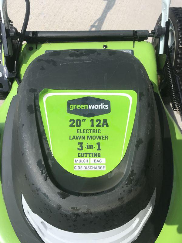 Greenworks 20 Electric Mower