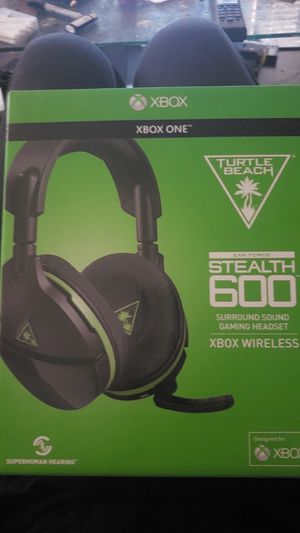 Xbox 1 stealth 600 headset for Sale in Chicago, IL