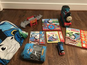 Thomas Train lover bundle toys books blanket for Sale in West Springfield, VA