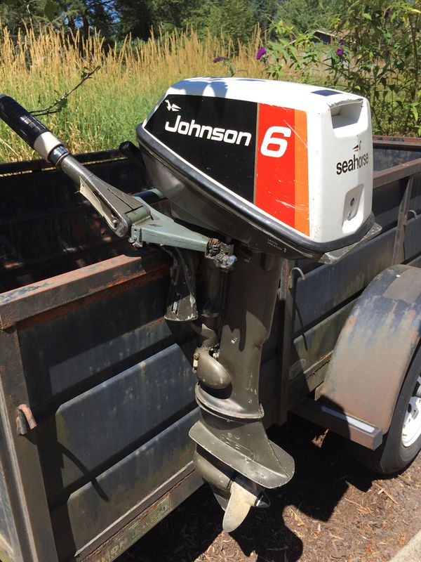 1976 Johnson 6HP Outboard for Sale in Olympia, WA - OfferUp