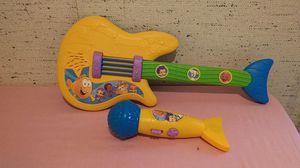 Children's Toy Guitar and Microphone, Both Play Music for Sale in Madison Heights, VA