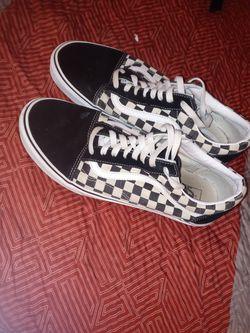 Checker Men Vans Size: 11 Thumbnail