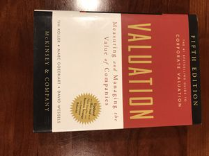 Book - Valuation - BRAND NEW for Sale in Arlington, VA