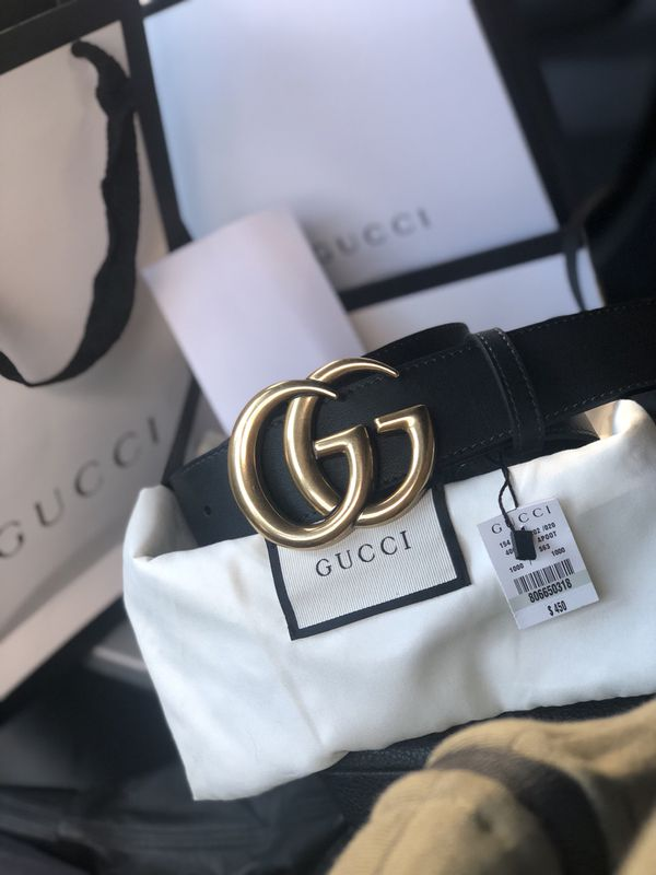 c3ccb758e3a5 BLACK LEATHER GUCCI 100%AUTHENTIC for Sale in New York, NY - OfferUp