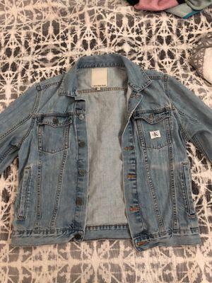 Calvin klein Jean jacket for Sale in Fullerton, CA