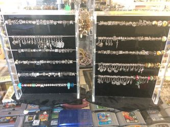 MAKE YOUR OWN CHARM BRACELET OR NECKLACE!! $10 FOR CHAIN & 10 CHARMS or BEADS!! Thumbnail