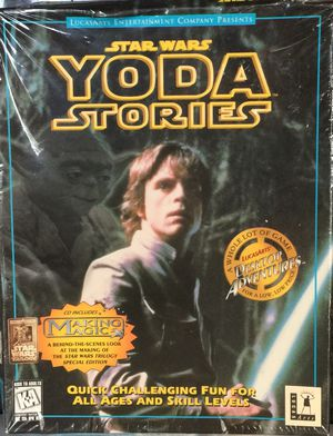 New Vintage Star Wars Yoda Stories PC Game CD-ROM for Sale in San Francisco, CA