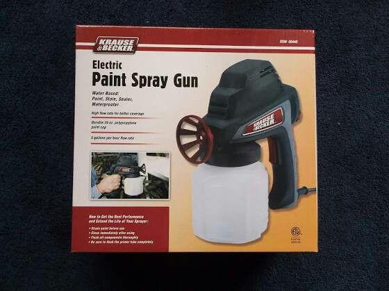 Krause Becker Electric Spray Gun For Sale In Oakland Ca