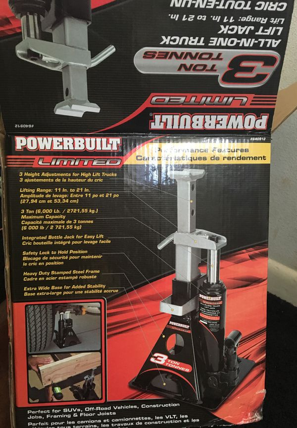 Power built truck jack (Tools & Machinery) in Orlando, FL - OfferUp