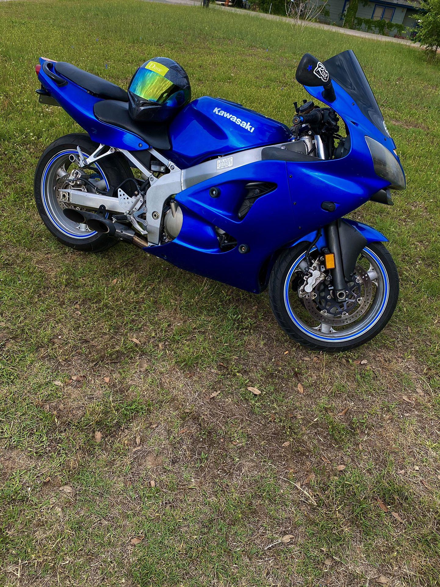2006 Kawasaki ZZR600