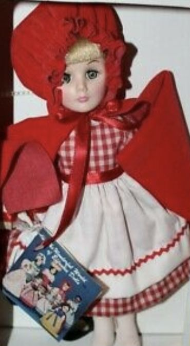 1976, Effanbee Storybook, Little Red Riding Hood Doll