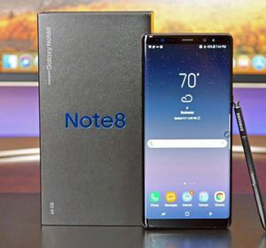 Samsung Galaxy Note 8 - Factory Unlocked - Comes w/ Box + Accessories & 1 Month Warranty for Sale in Sterling, VA