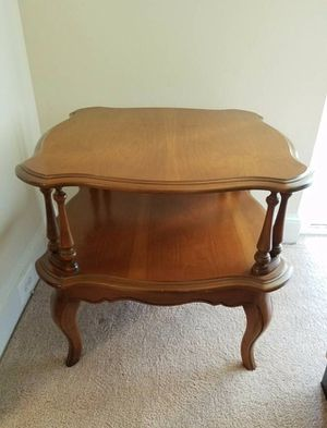 Double Top Oak Table for Sale in Vienna, VA