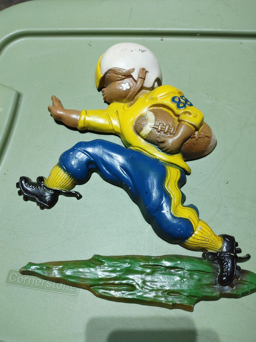 collectible metal soccer figurines