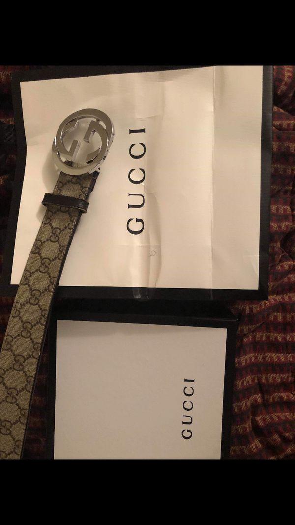 7398f70c809 Authentic Men s Gucci Belt Sz 110cm 42 for Sale in Chicago