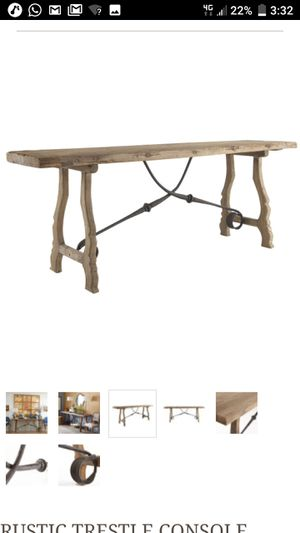 Westiria console table for Sale in Columbia, MD