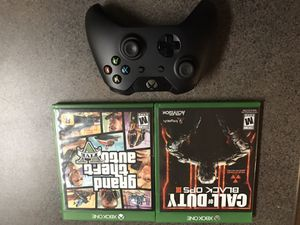1 CONTROLLER 2 GAMES (HOLIDAY ESPECIAL PRICE) for Sale in Ashburn, VA