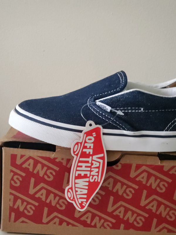 429e9940cbd Vans slip on boy shoes(child kid)size 9.5 toddler New!Zapatos Vans nuevos  para niño