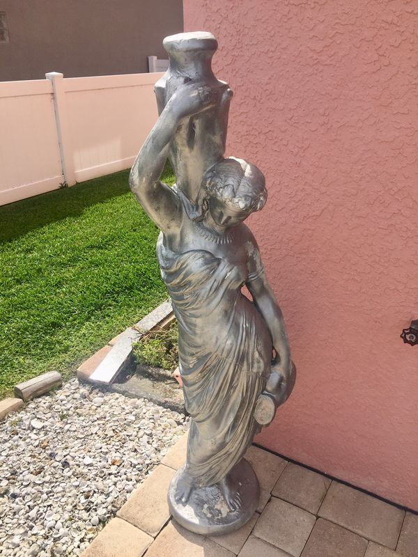 Huge Rebecca Statue Two Jug For Sale In New Port Richey