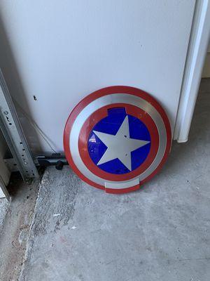Photo Child Captain America shield toy