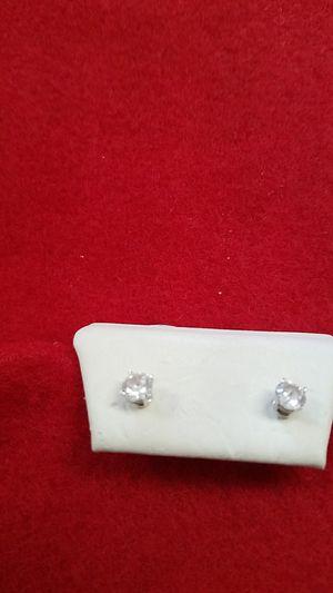 DIAMONDS GOLD EARRINGS for Sale in Saint Cloud, FL