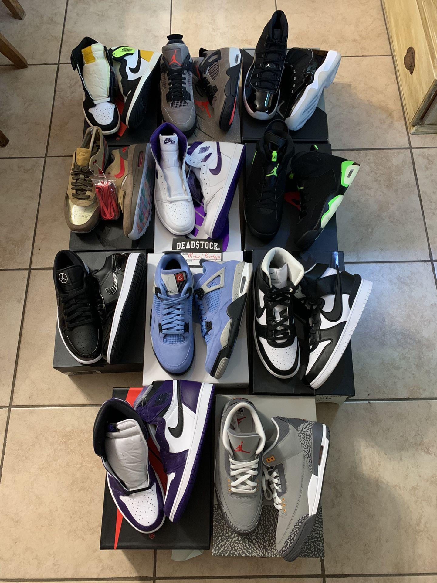 Jordans and Nikes (read description)