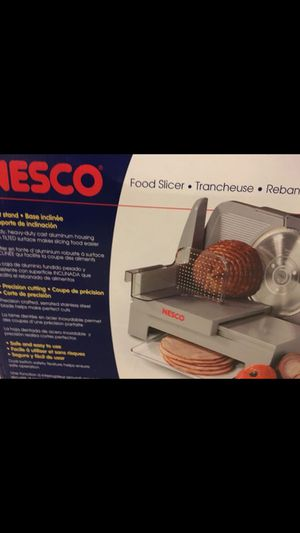 Nesco food slicer kitchen small appliances for Sale in Canton, MI
