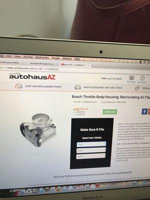 Bosch Recirculating Air Flap for Mercedes C230 kompressor for Sale in Laurel, MD