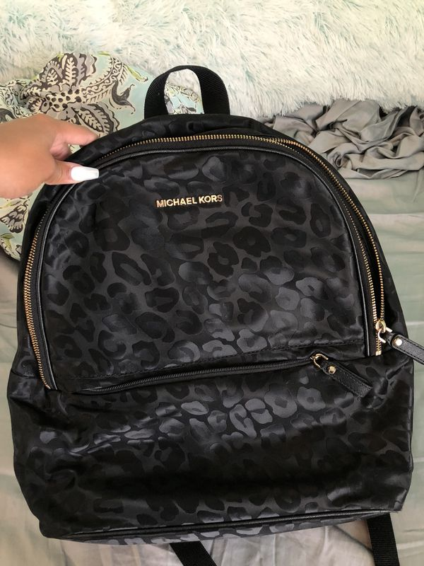 ad21b1cf1f31 Michael Kors cheetah backpack for Sale in Houston, TX - OfferUp