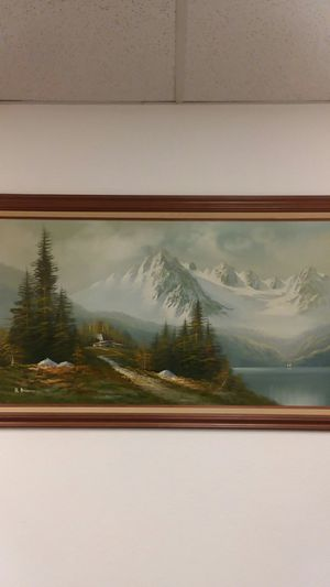 Vintage Oil Painting for Sale in Joint Base Lewis-McChord, WA
