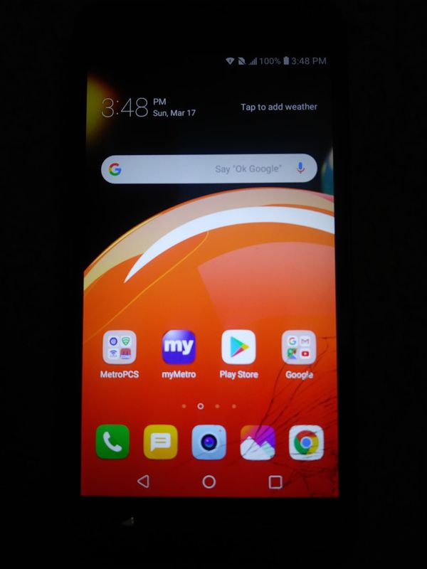 Lg Aristo 2 Unlocked To Any Carrier 16gb Cracked Screen Work 100% Nothing  Less Than $30 for Sale in Philadelphia, PA - OfferUp