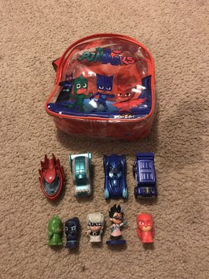 Pj mask cars and backpack for Sale in Germantown, MD