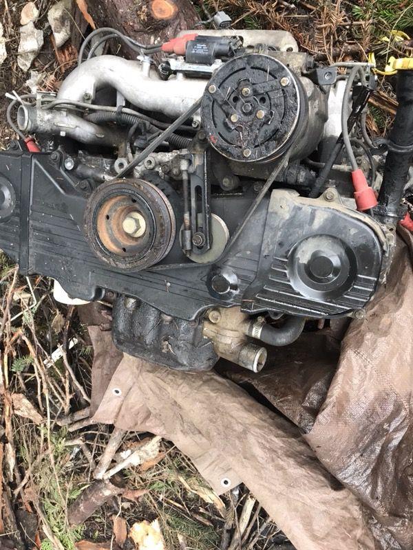 Ej22 Motor Blown Head Gasket For Sale In Chehalis Wa Offerup