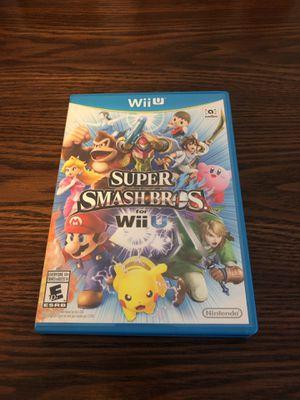 Super Smash Bros - Nintendo Wii U for Sale in New York, NY
