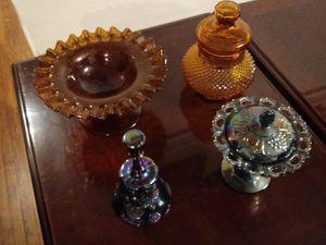 Beautiful carnival glass assortment for Sale in Nashville, TN