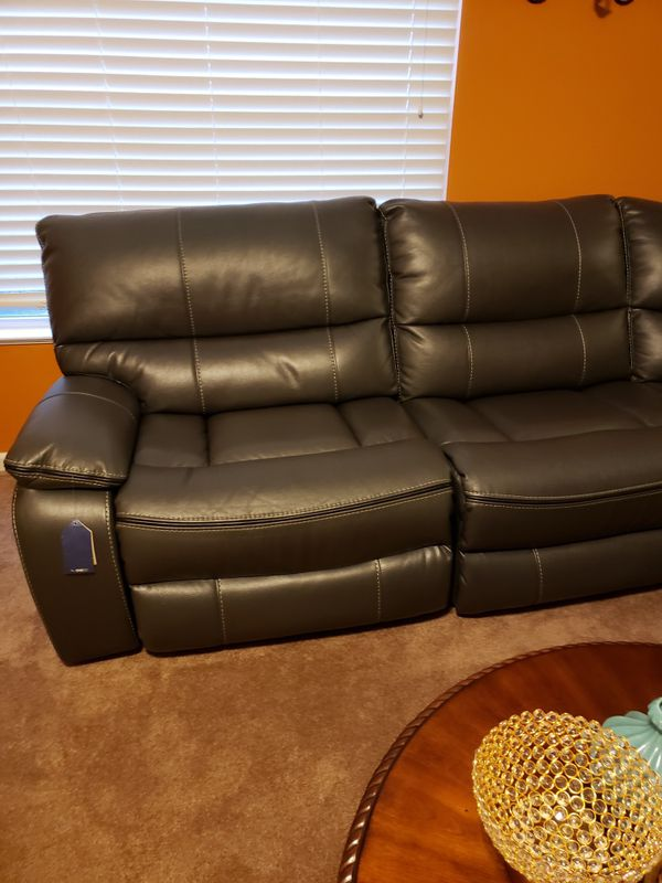 Kasala Leather Sofa
