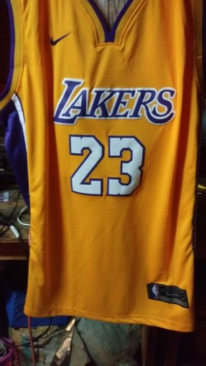 9e9416b5897b LeBron James Lakers jersey size 52 for Sale in Lynwood