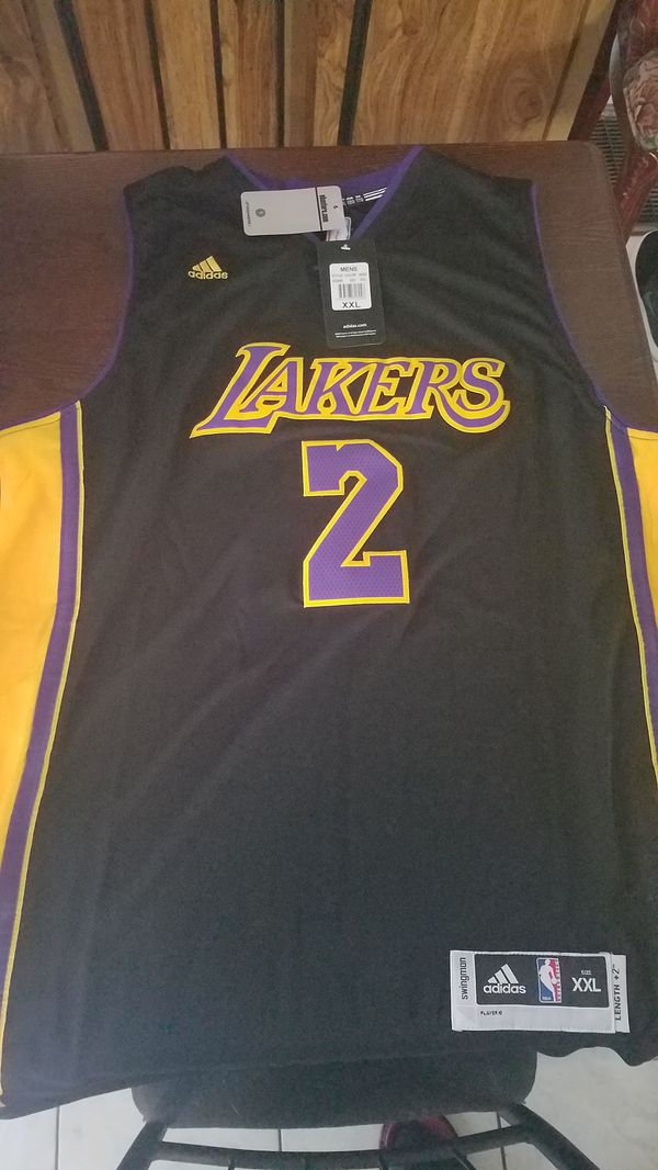 the best attitude 7f321 1e203 Lonzo Ball black Lakers Jersey 2017**Hot** for Sale in Greenville, SC -  OfferUp