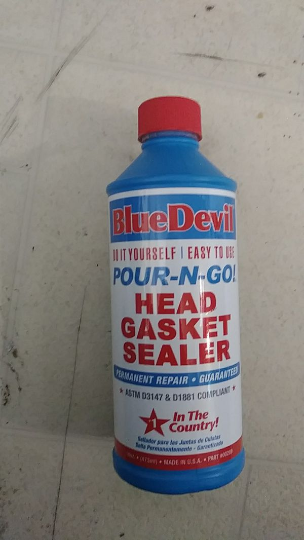 Blue Devil Pour-N-Go Head Gasket Sealer for Sale in Turlock, CA - OfferUp