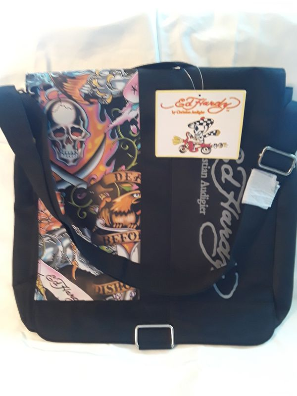 e238193b90 ED HARDY CROSSBODY MESSENGER BAG for Sale in Queens
