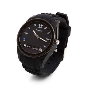 NEW Martian Notifier Smart Watch - Black - Bluetooth Connectivity for Sale in Nottingham, MD
