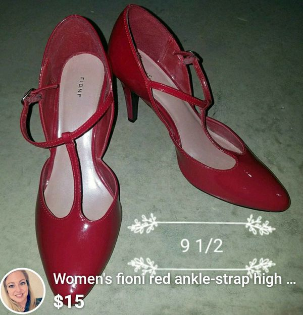 52a641c619f Women s fioni red ankle-strap high heels for Sale in McKinney