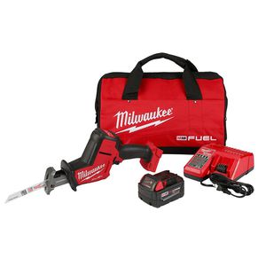 Milwaukee M18 FUEL 18-Volt Lithium-Ion Brushless Cordless HACKZALL Reciprocating Saw Kit W/(1) 5.0Ah Batteries, Charger & Tool Bag for Sale in Germantown, MD