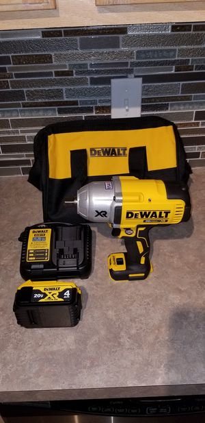 Dewalt XR Brushless Impact Wrench Kit for Sale in Dallas, TX